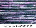 Purple Wood Background.