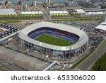 15 may 2017  rotterdam  holland.... | Shutterstock . vector #653306020