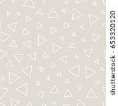 minimal graphic geometric... | Shutterstock .eps vector #653320120
