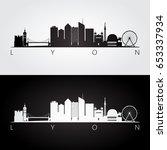 lyon skyline and landmarks