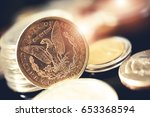 american one dollar coins and...