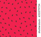 abstract watermelon seamless... | Shutterstock .eps vector #653379754