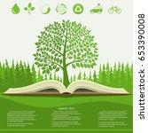 Ecology Info Graphics Modern...