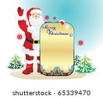 background for new year and for ... | Shutterstock .eps vector #65339470