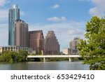the south first street bridge...   Shutterstock . vector #653429410