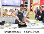 nonthaburi   june 04   chefs...   Shutterstock . vector #653438926