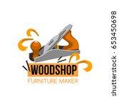 furniture maker icon for...   Shutterstock .eps vector #653450698