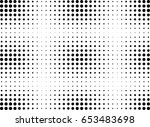 abstract halftone dotted... | Shutterstock .eps vector #653483698