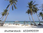 phuquoc island summer holiday... | Shutterstock . vector #653490559