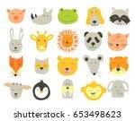 vector  cute illustration of... | Shutterstock .eps vector #653498623