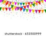 celebration web banner....   Shutterstock .eps vector #653500999