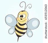 bee | Shutterstock .eps vector #653512063