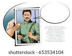stock illustration. people in... | Shutterstock .eps vector #653534104