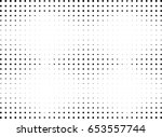abstract halftone dotted... | Shutterstock .eps vector #653557744