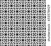 vintage pattern graphic design | Shutterstock .eps vector #653578429