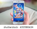 bangkok  thailand   june 03 ... | Shutterstock . vector #653580634