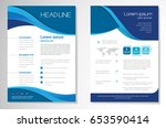 template vector design for... | Shutterstock .eps vector #653590414