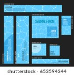 collection of various sizes...   Shutterstock .eps vector #653594344