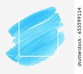 art abstract background brush... | Shutterstock .eps vector #653599114