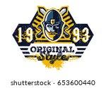 vector illustration on the... | Shutterstock .eps vector #653600440
