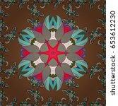 premium logotype. colored... | Shutterstock . vector #653612230