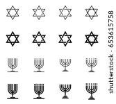 Set Of Various Star Of David...