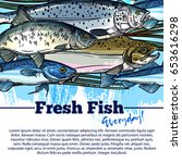 Seafood And Fish Catch Poster....