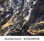 black marble texture | Shutterstock . vector #653638948