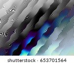 blue wavy background. abstract... | Shutterstock . vector #653701564