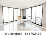 modern office interior room | Shutterstock . vector #653702419