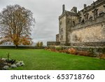 scottish castle  stirling... | Shutterstock . vector #653718760