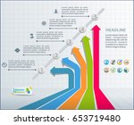 collection of vector... | Shutterstock .eps vector #653719480