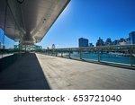 generic cityscape with corridor ... | Shutterstock . vector #653721040