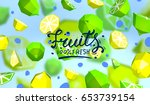 creative background with low... | Shutterstock .eps vector #653739154