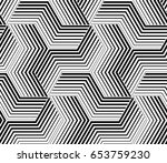 the geometric pattern with... | Shutterstock .eps vector #653759230