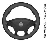 steering wheel | Shutterstock .eps vector #653759290