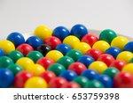 colorful balls   Shutterstock . vector #653759398