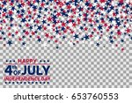 seamless pattern with stars for ... | Shutterstock .eps vector #653760553