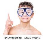 close up portrait of happy teen ...   Shutterstock . vector #653779048