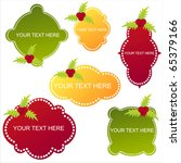 set of 6 christmas banners | Shutterstock .eps vector #65379166