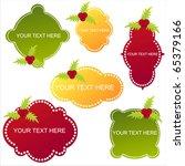 set of 6 christmas banners | Shutterstock .eps vector #65379166