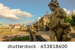 statue on the gallery of... | Shutterstock . vector #653818600