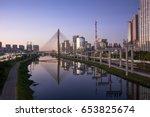 sao paulo brazil south america... | Shutterstock . vector #653825674