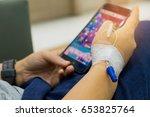 chiangmai  thailand   june 3 ...   Shutterstock . vector #653825764