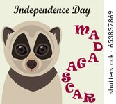 madagascar independence day ... | Shutterstock .eps vector #653837869