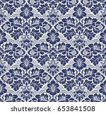seamless floral pattern in the... | Shutterstock . vector #653841508
