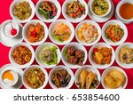 group picture of chinese cuisine | Shutterstock . vector #653854600