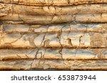 Layer Of Sedimentary Rocks