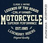 california motorcycle  superior ...   Shutterstock .eps vector #653894920
