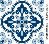 beautiful ornamental tile...